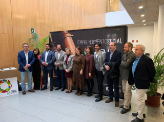 El Nodo de Innovación Social de Vélez-Málaga presente en la I Gala de los Premios de Innovación Social de La Noria.