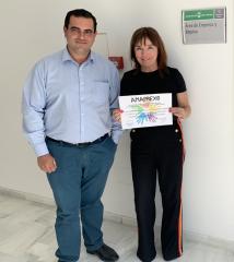 Amaprexs presenta sus proyectos de inclusión social en el Área de Empresa y Empleo