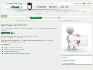 Conoce la sección de Formación a emprendedores de WeetSI
