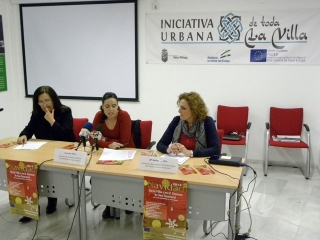 """El proyecto Iniciativa Urbana """"De toda la Villa"""" ha diseñado un campaña de actividades navideñas centrada en la dinamización del tejido empresarial de su zona de actuación"""
