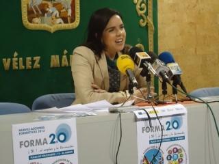 El Ayuntamiento de Vélez-Málaga a través del OALDIM, ofrece una nueva convocatoria de acciones formativas del Proyecto FORMA2.0 dirigida a 80 nuevos beneficiarios
