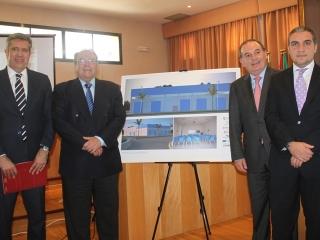 El Ayuntamiento firma el convenio para la creación de un vivero de empresas en el Parque Tecnoalimentario