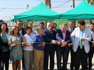 El Ayuntamiento y la Diputación inauguran la Feria de Transportes y el II Encuentro Regional de Rescate