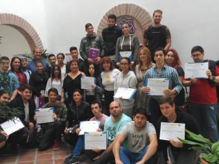 Cerca de 40 jóvenes estudiantes de hostelería han conseguido un empleo gracias al programa 'CHEV' de Vélez-Málaga