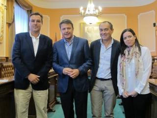 Una Delegación de Vélez-Málaga visita Irun para conocer las experiencias desarrolladas en el marco del Acuerdo por el Desarrollo Económico y el Empleo.