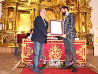 El chef Diego Gallegos pregona la tercera edición del 'Ajobacalao de Vélez Málaga y la Cocina de Cuaresma'
