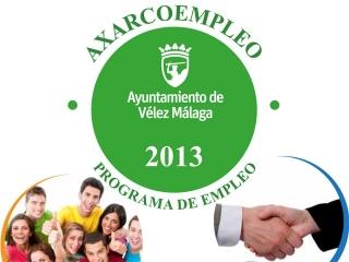 El Programa de Empleo AXARCOEMPLEO 2013 sigue en marcha