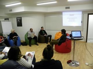Iniciativa Urbana imparte un curso de creatividad emprendedora en un nuevo espacio destinado a la capacidad creativa