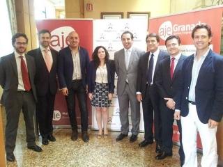 Exitoso encuentro de negocios Interprovincial de AJE Málaga y AJE Granada