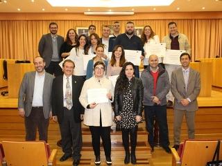 El Ayuntamiento entrega los diplomas del curso 'Creación y Consolidación de Empresas de Industrias Culturales y Creativas'