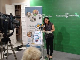 El Ayuntamiento de Vélez Málaga a través del OALDIM, ofrece otra nueva convocatoria de acciones formativas del Proyecto FORMA2.0 dirigida a 80 nuevos/as beneficiarios/as