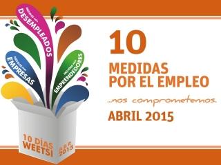 10 días WeetSi Abril, mucha energía para seguir ofreciendo soluciones para impulsar nuestro municipio.