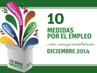 Un nuevo mes comienza y hacemos una valoración de la labor del ayuntamiento en materia de emprendimiento, la empresa y el empleo