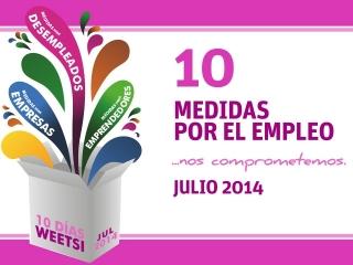 10 medidas para favorecer la empleabilidad, impulsar a nuestras empresas y mejorar la capacitación y el talento