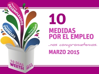 10 días WeetSi Marzo: Avanzamos el año y lo hacemos con más iniciativas.