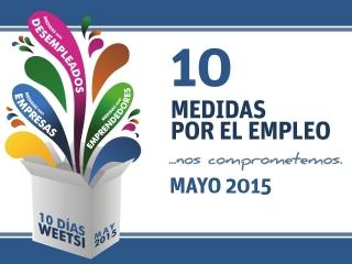 10 días WeetSi Mayo, seguimos ilusionados poniendo en marcha más iniciativas a favor del empleo, la empresa y la formación