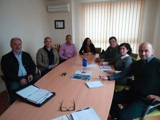 Reunión de trabajo de la Delegación de Empresa y Empleo con la Asociación de Transportistas Axárquicos (ATAX)