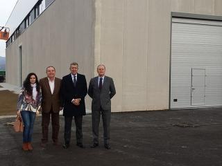 Vélez inaugurará en febrero el vivero de empresas del Parque Tecnoalimentario de la Costa del Sol Axarquía