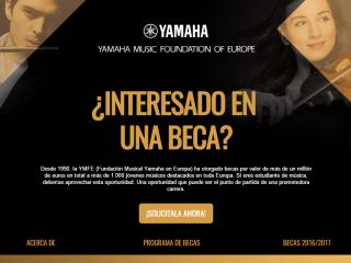 Becas Yamaha Music